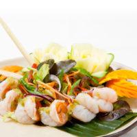 Pha Khung Sod - พล่ากุ้งสด