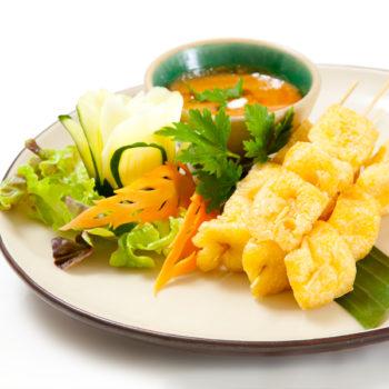Tofu Satee - เต้าหู้สะเต๊ะ