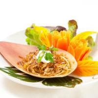 Yum Hua Pli - ยำหัวปลี