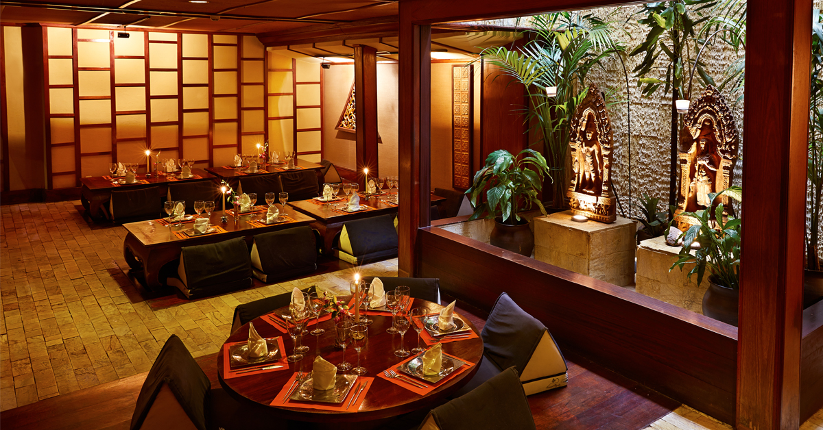 Restaurant thai barcelona royal cuisine