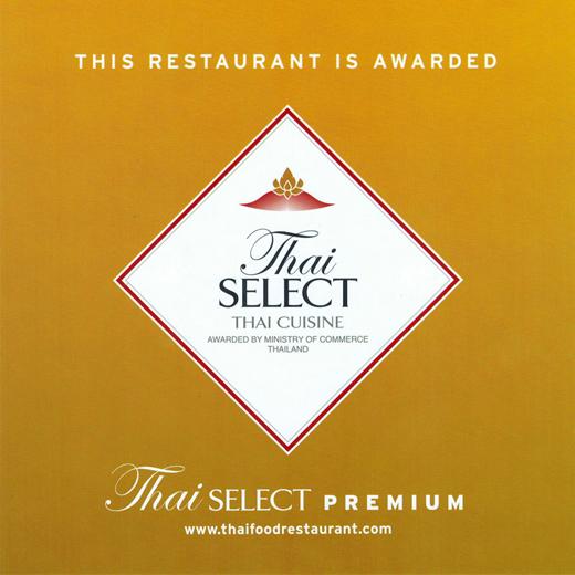 Somos el único restaurante en España con Thai Select Premium