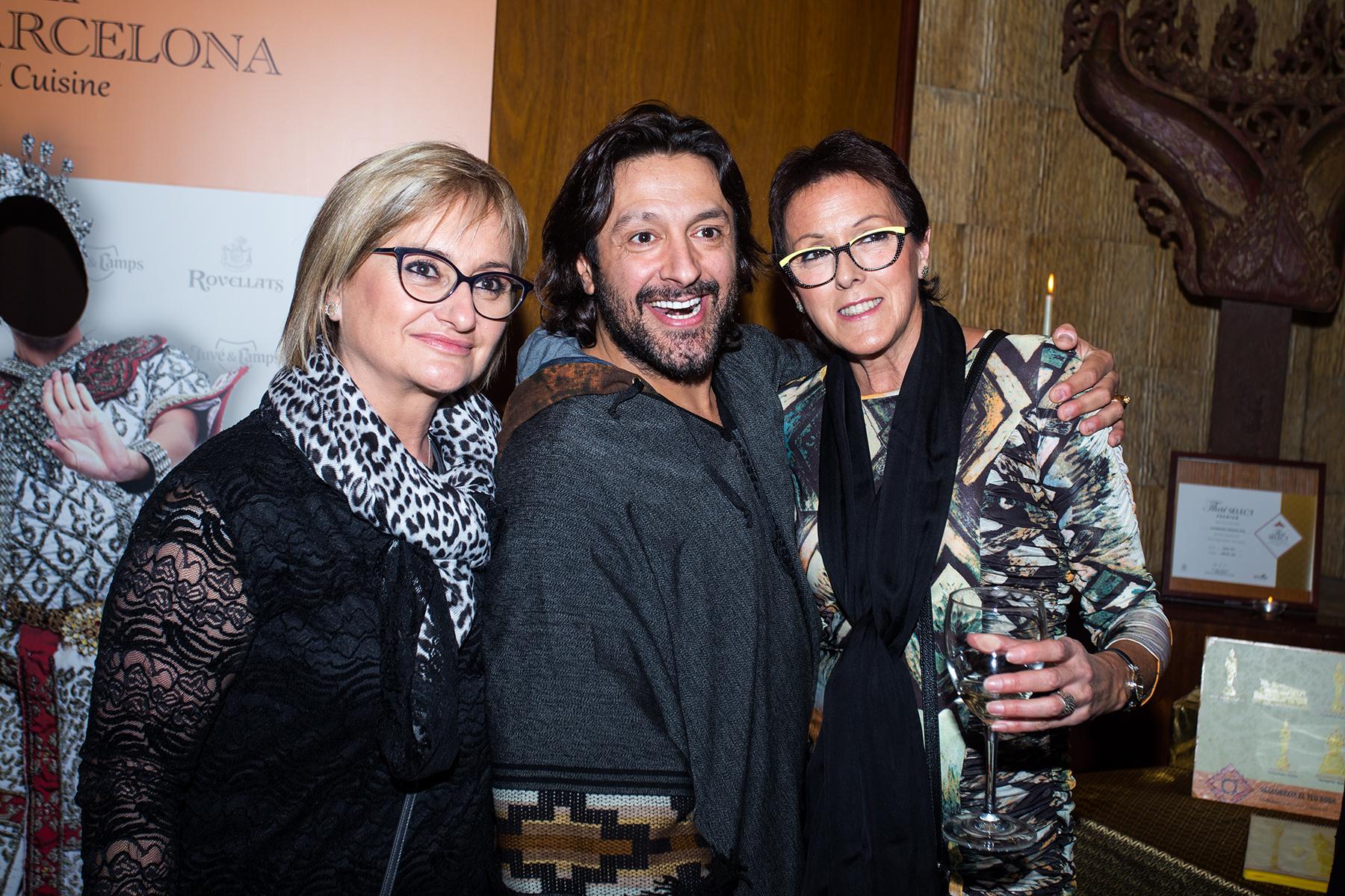 Rafael Amargo en Thai Barcelona por la Fibrosis Quística